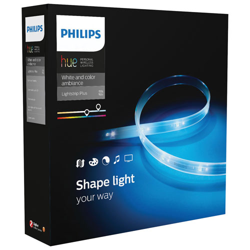 飛利浦連網智慧照明 連網LED彩色條燈 2M